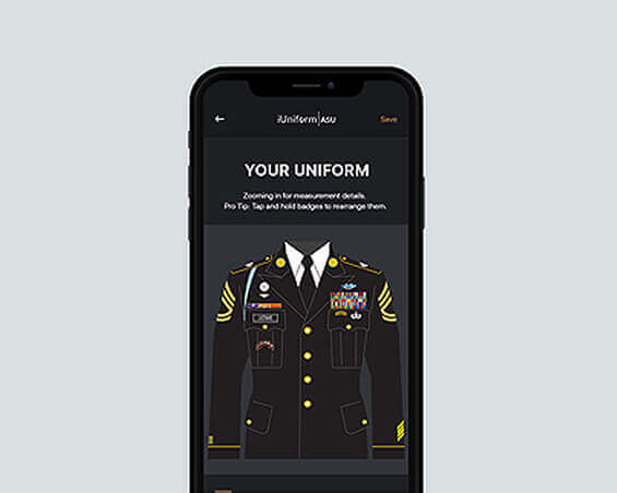 iuniform mobile app by mindpool tech