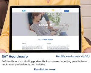 sat healthcare website by mindpooltech